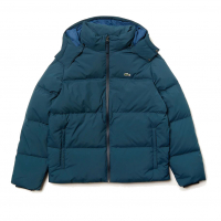 Lacoste Men's 'Detachable Hood Down Water-Resistant Taffeta' Jacket