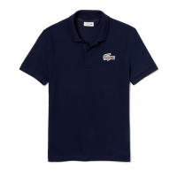 Lacoste Men's 'Regular Fit Check Croc Badge Piqué' Polo Shirt