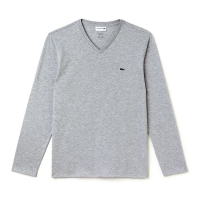 Lacoste T-shirt 'V-neck Soft Cotton' pour Hommes
