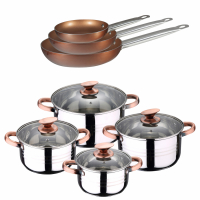 Cook & Chef Cookware set - 11 Units