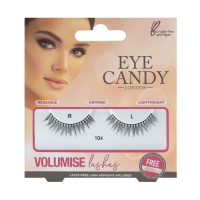 Eye Candy 'Volumise' Fake Lashes - 104