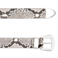 B-Low The Belt Women's 'Python Print Villain' Belt