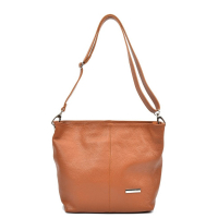 Luisa Vannini Leather Shoulder Bag