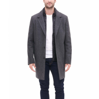 DKNY Manteau 'Removable Quilted Bib' pour Hommes