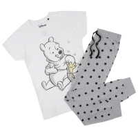 Disney Women's 'Honey Sketch' Pajama Set