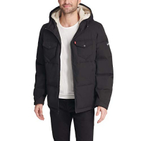 Levi's Men's 'Colorblocked Quilted' Puffer Jacket