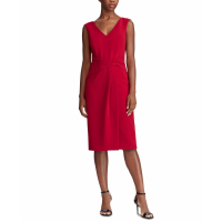 LAUREN Ralph Lauren Women's 'Ruched Sleeveless' Dress