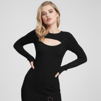 G by Guess Women's 'Darrin Lace Up Sweater' Dress