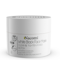 Nacomi 'White & Black' Face Mask - 50 ml