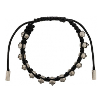 Alexander McQueen Men's 'Skull' Adjustable bracelet