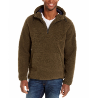 DKNY Pull-over 'Sherpa Quarter-Zip' pour Hommes