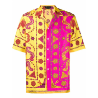 Versace Men's 'Barocco' Short sleeve shirt