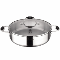 Cook & Chef 'Masterpro Gravity' Induction Pan + Glass lid
