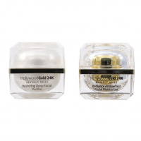 Hollywood Gold 24k 'Restoring Deep & Radiance Antioxidant' Facial peeling, Moisturizing Cream - 50 ml, 2 Units
