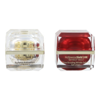 Hollywood Gold 24k 'Radiance & Glow-Boosting Wrinkle Defying' Eye Cream, Moisturizer - 50 ml, 2 Units