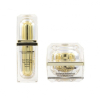 Hollywood Gold 24k Crème hydratante, Serum 'Age Defying Retinol & Radiance Antioxidant' - 50 ml, 2 Unités