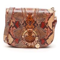 See By Chloé Women's 'Python Print Hana' Crossbody Bag