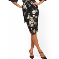 New York & Company Women's 'Floral' Skirt
