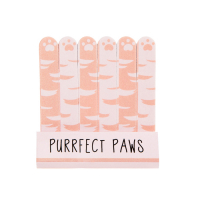 Sass and Belle 'Cutie Cat Purrfect Paws Mini' Nail File - 6 Units