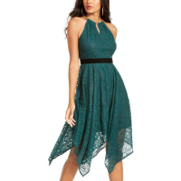 Thalia Sodi Women's 'Chain-Neck Lace' Dress