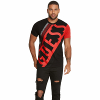 Guess T-shirt 'Hanzo Logo Crew' pour Hommes