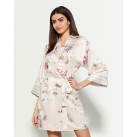 Flora Nikrooz Women's 'Emily Floral Print Wrap' Dress