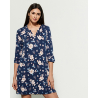 Company Ellen Tracy Women's 'Floral Three-Quarter Sleeve Print' Nightdress