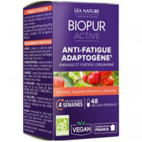 Biopur 'Anti-Fatigue Adaptogène Ginseng Guarana Vitamine C D'Acerola' Nutritional supplement - 26 g