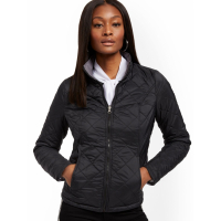New York & Company Women's 'Reversible Packable' Quilted Jacket