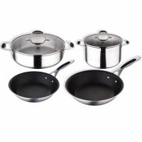 Cook & Chef 'Masterpro Gravity Induction' Cookware set - 6 Pieces