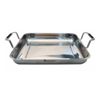Cook & Chef 'Masterpro Gravity Rectangular' Oven Tray