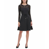 Tommy Hilfiger Women's 'Lace-Sleeve' Dress