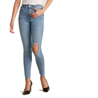 Levi's Jeans 'Mile High Super Skinny Distressed' pour Femmes
