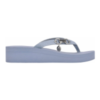 Guess Women's 'Maury Logo' Wedge Flip Flops