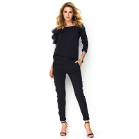 Makadamia Women's 'Lack' Sweater & Trousers Set