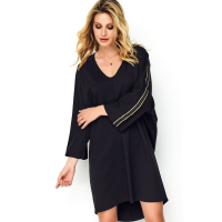 Makadamia Women's 'Lack' Long-Sleeved Dress