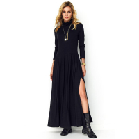 Makadamia Women's 'Back Zip' Maxi Dress