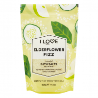 I Love 'Elderflower Fizz' Bath Salts - 500 g