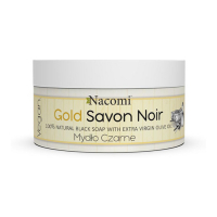 Nacomi 'Gold' Black Soap - 125 g
