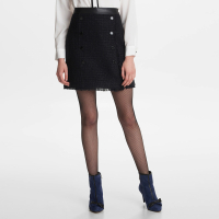 Karl Lagerfeld Women's 'Tweed Buttoned' Skirt