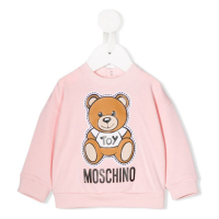 Moschino Kids Pull-over 'Teddy Bear' pour Bébés filles