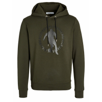 Bikkembergs Sweatshirt à capuche  'Slightly Body Shaped' pour Hommes