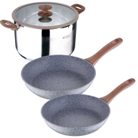 Cook & Chef 'Granito' Cookware set - 4 Units