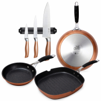 Cook & Chef 'Copper Just For Chefs' Cookware set - 4 Units