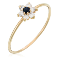 By Colette 'Blue Flower' Ring