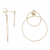 By Colette Women's 'Duo Cerclés' Earrings