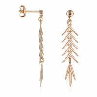By Colette Women's 'Feuillage Brillant' Earrings
