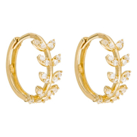 By Colette Women's 'Feuillette' Earrings