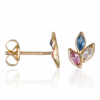 By Colette Women's 'Trio De Pétales' Earrings