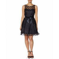 Betsey Johnson Women's 'Polka Dot Illusion' Dress
